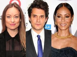 Olivia Wilde, John Mayer, Jada Pinkett Smith