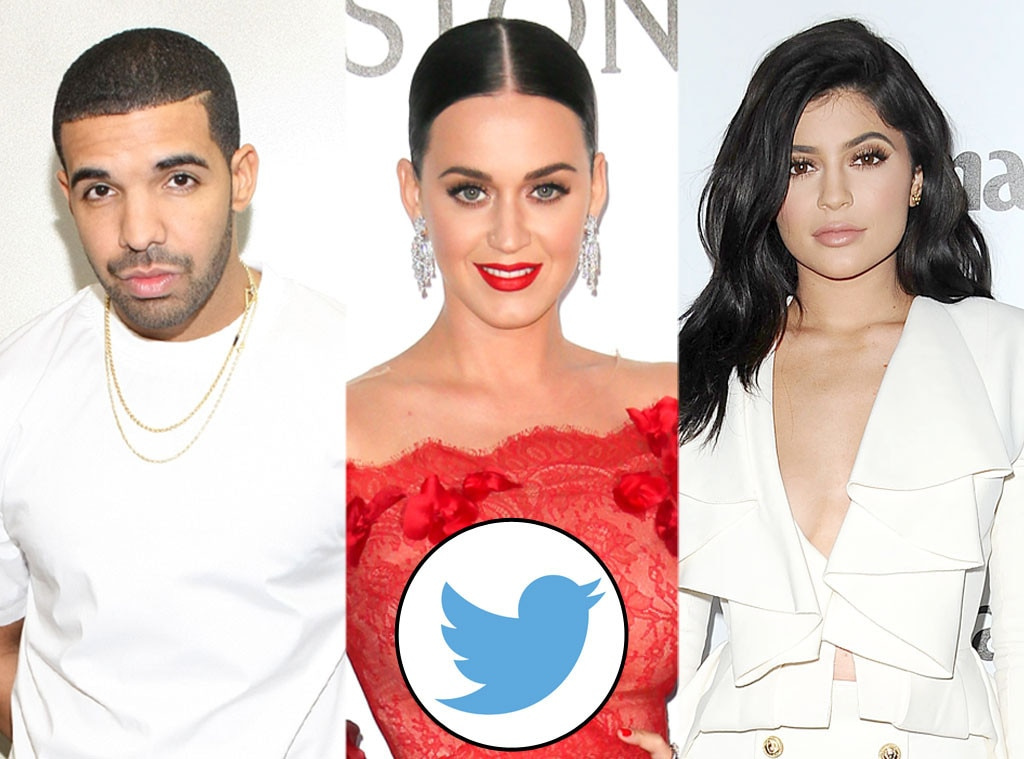 Drake, Kylie Jenner, Katy Perry