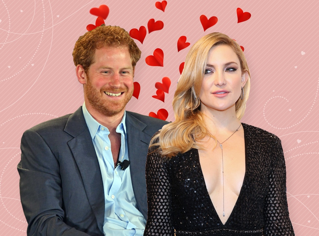 Shipped Couples, Prince Harry, Kate Hudson