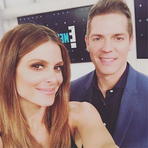 Maria Menounos, Jason Kennedy, Instagram