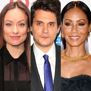 Olivia Wilde, John Mayer, Jada Pinkett Smith