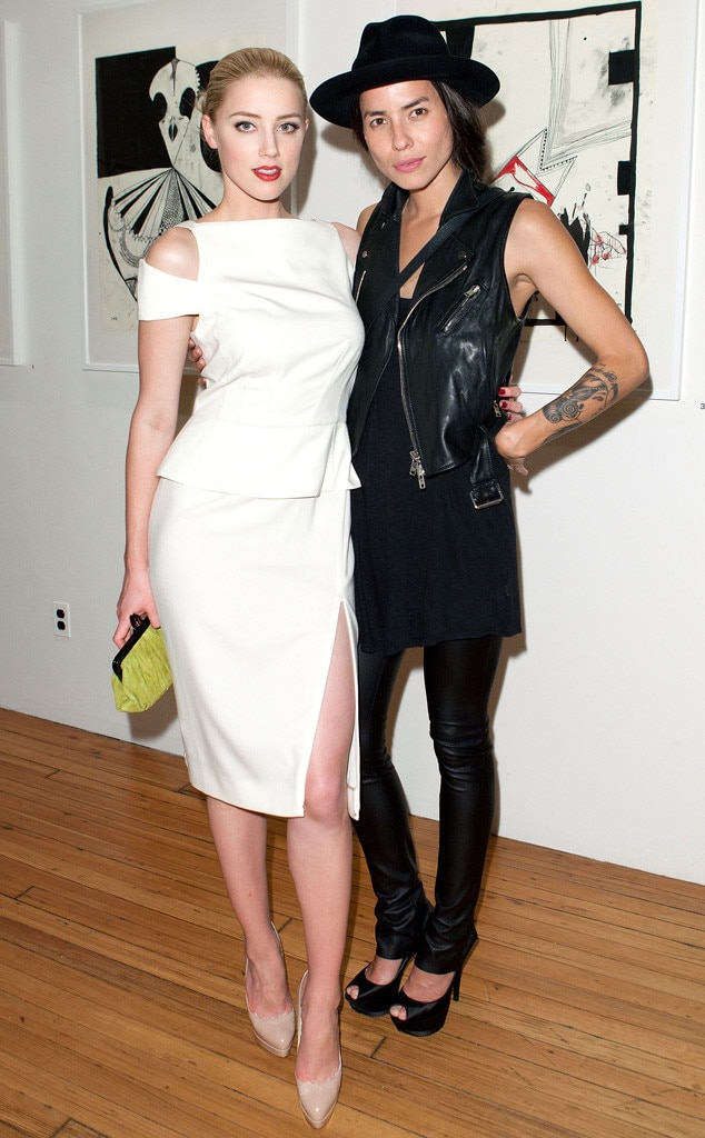 Amber Heard, Tasya Van Ree