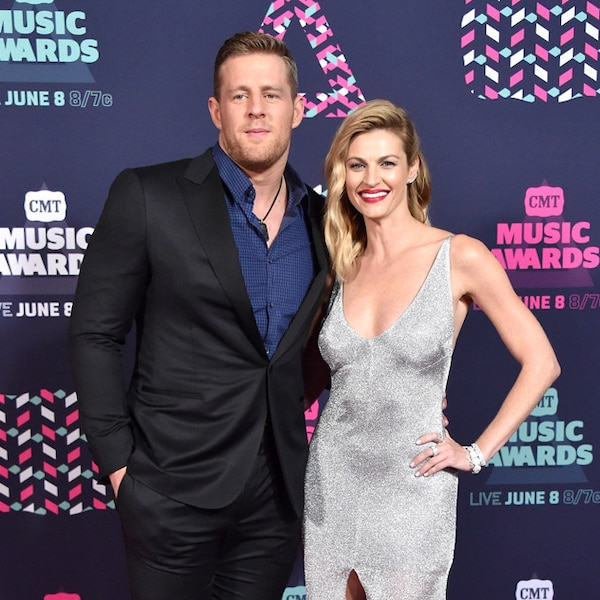 Jj Watt Wedding Pictures: J.J. Watt & Erin Andrews From The Cutest Couples At The