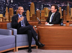 Barack Obama, Jimmy Fallon, The Tonight Show Starring