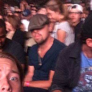 Leonardo DiCaprio, Beyonce Concert