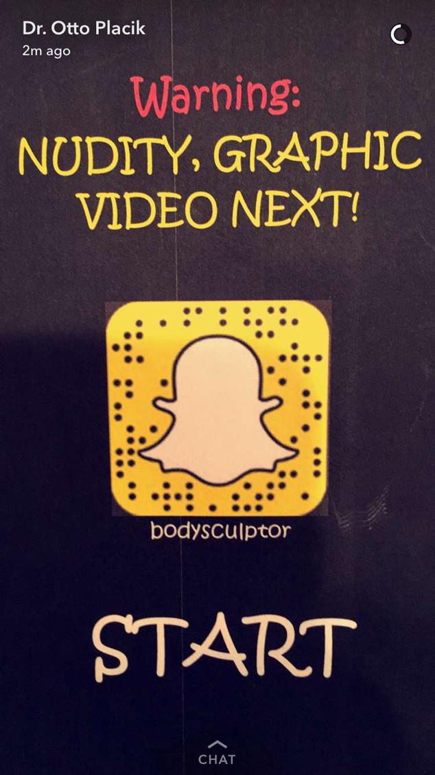 Plastic Surgery, Snapchat