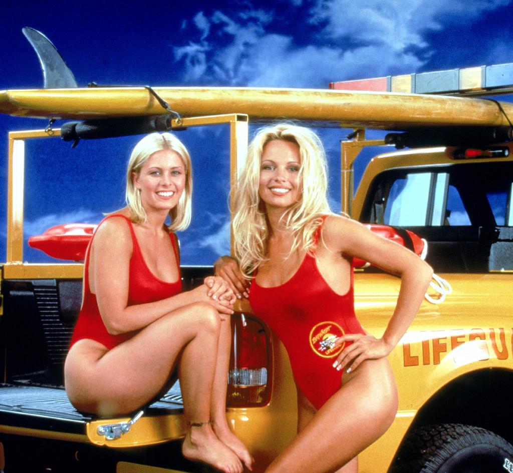 Nicole Eggert, Pamela Anderson, Baywatch