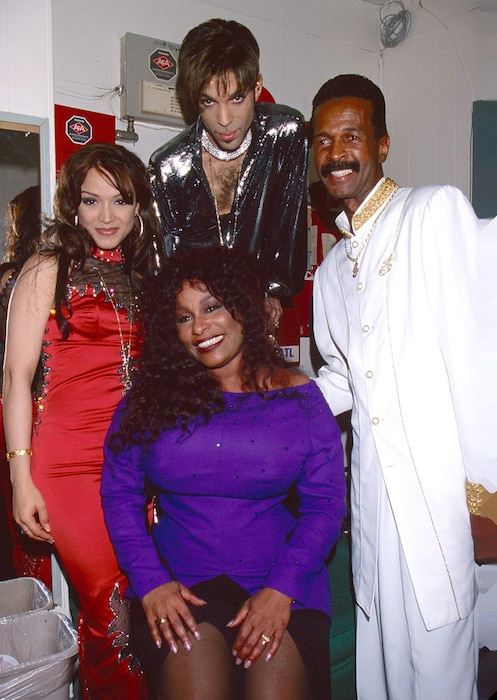 Mayte Garcia, Prince, Chaka Khan, Larry Graham