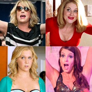 Kristin Wiig, Amy Poehler, Tiny Fey Amy Shcumer, Funny Ladies