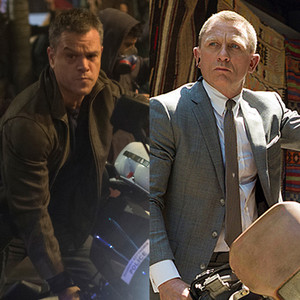 Matt Damon, Jason Bourne, Daniel Craig, James Bond