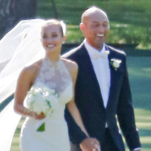 Derek Jeter, Hannah Davis, Wedding