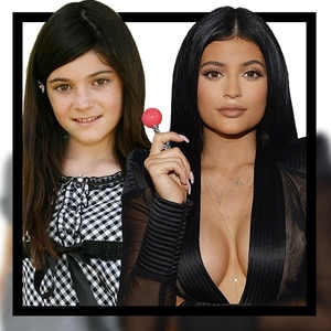 Kylie Jenner, Transformation, Growing up, GIF