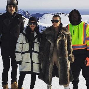 Kourtney Kardashian, Iceland