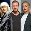 Taylor Swift, Calvin Harris, Rita Ora