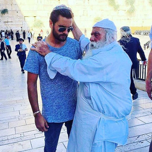 Mazel Tov, Scott! Lord Disick Visits Israel & Gets Blessed at Jerusalem's Western Wall