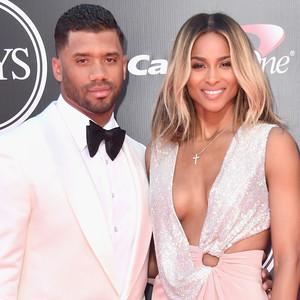 Russell Wilson, Ciara, 2016 ESPY Awards, Couples