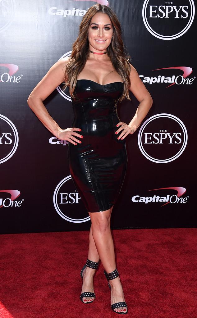 Nikki Bella from 2016 ESPYs Red Carpet Arrivals   E! News