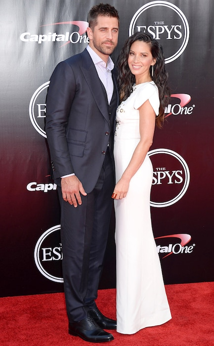 Aaron Rodgers, Olivia Munn, 2016 ESPY Awards, Couples