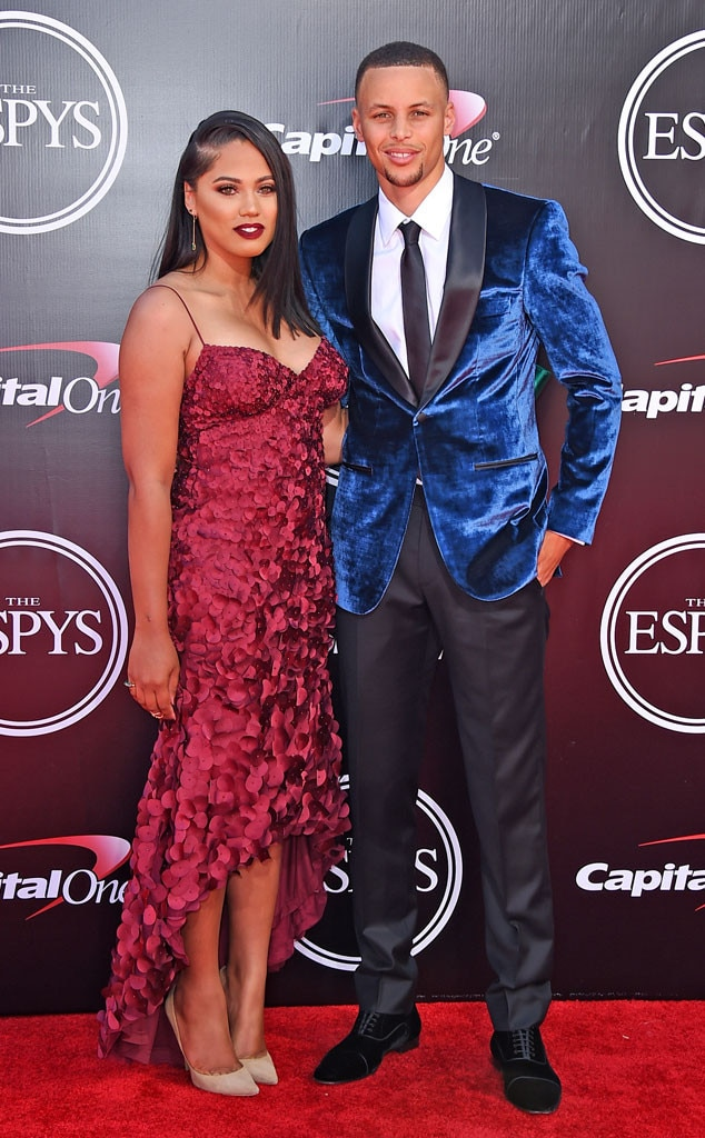 stephen  u0026 ayesha curry from 2016 espys red carpet couples