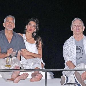 Amal Clooney, George Clooney, Bill Murray