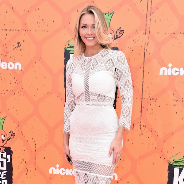 Camille Kostek From 2016 Kids' Choice Sports Awards Red