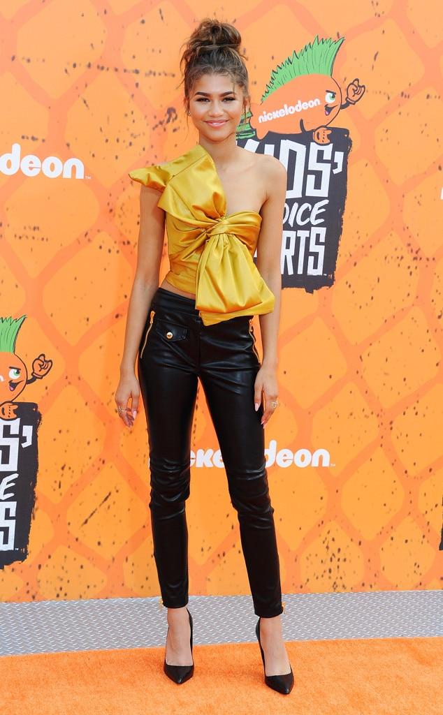 Zendaya From 2016 Kids Choice Sports Awards Red Carpet