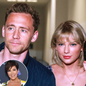 Taylor Swift, Tom Hiddleston, Kris JEnner