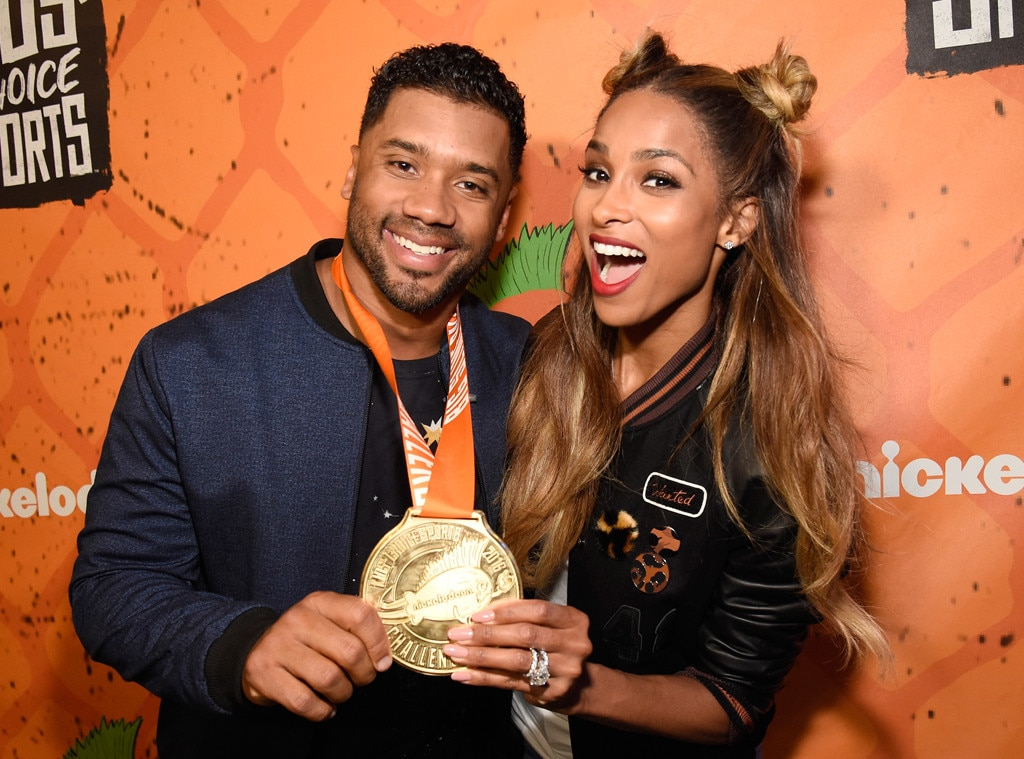 Ciara, Russell Wilson, Kids Choice Sports Awards 2016, Show