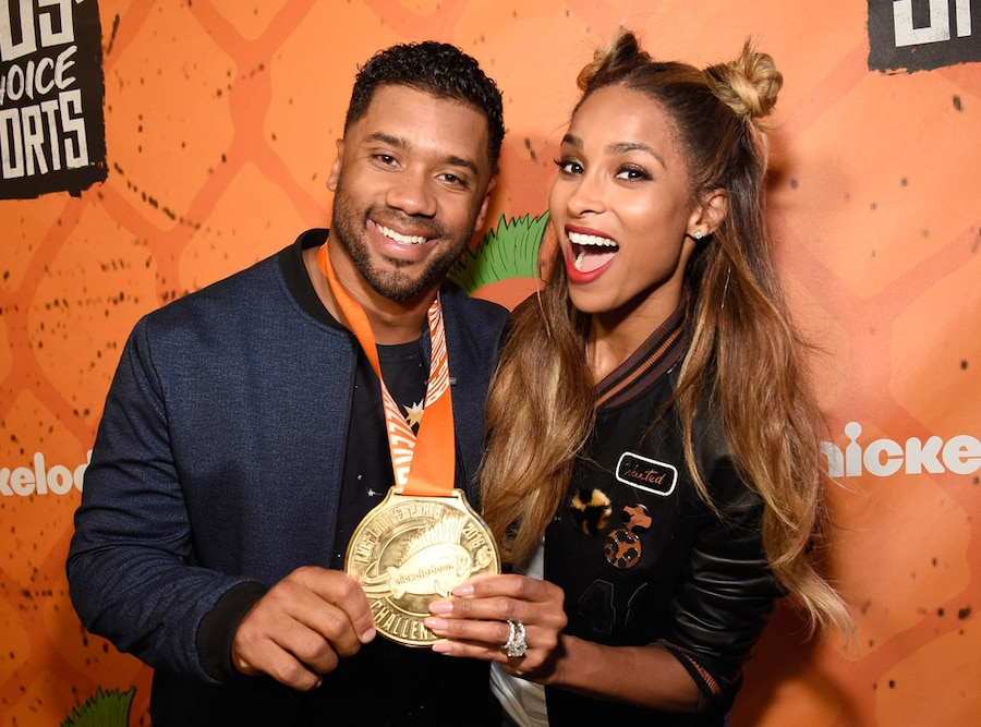 Ciara, Russell Wilson, Kids Choice Sports Awards 2016, Show