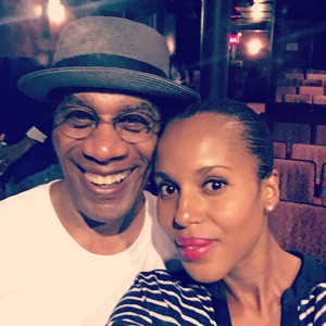 Kerry Washington, Joe Morton, Instagram