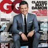 Matt Damon, GQ Cover, August 2016