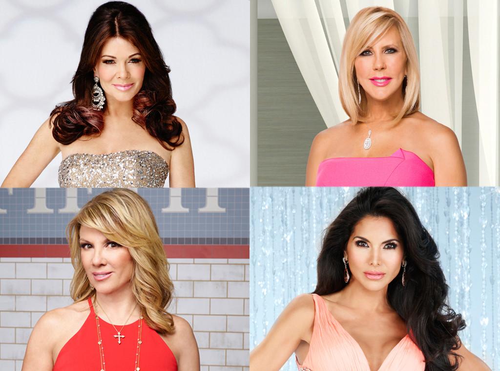 Lisa Vanderpump, Ramona Singer, Joyce Giraud de Ohven, Vicki Gunvalson, Real Housewives