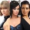 Kim Kardashian, Katy Perry, Taylor Swift