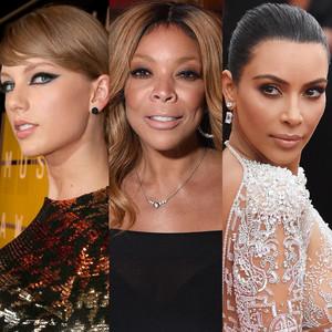 Taylor Swift, Wendy Williams, Kim Kardashian