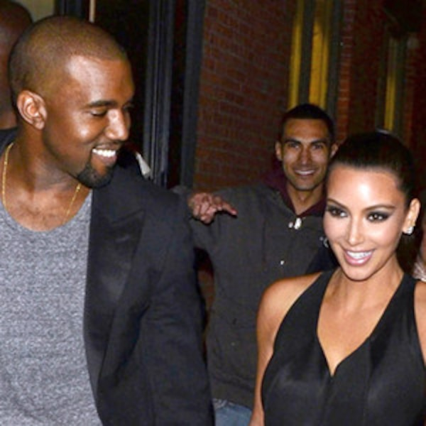 Kim kardashian and kanye west before they started dating