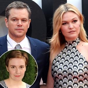 Matt Damon, Julia Stiles, Lena Dunham