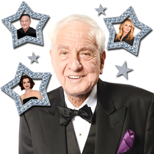 Garry Marshall, Anne Hathaway, Julia Roberts, Robin Williams