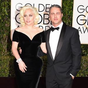 Lady Gaga, Taylor Kinney, Golden Globe Awards Couples