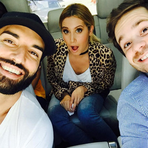 Ashley Tisdale, Justin Baldoni, Ryan Pinkston