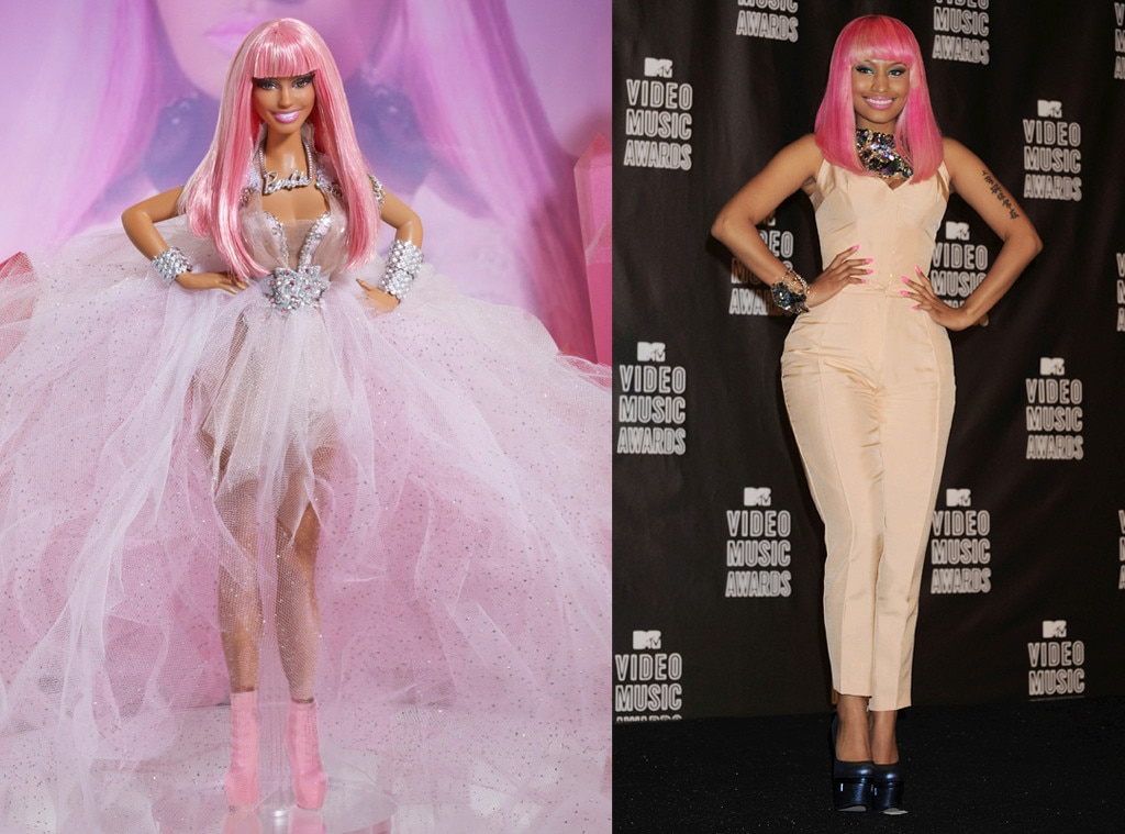 Celebs With Their Own Barbie Dolls photos