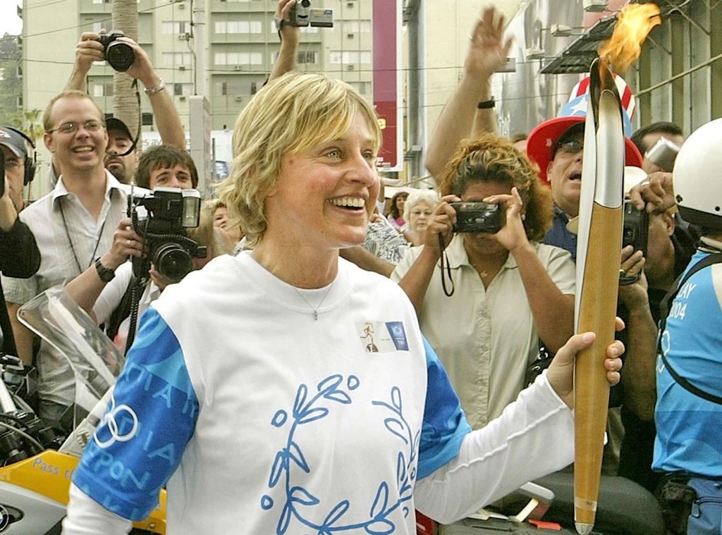 Olympic Torchbearers, Ellen Degeneres