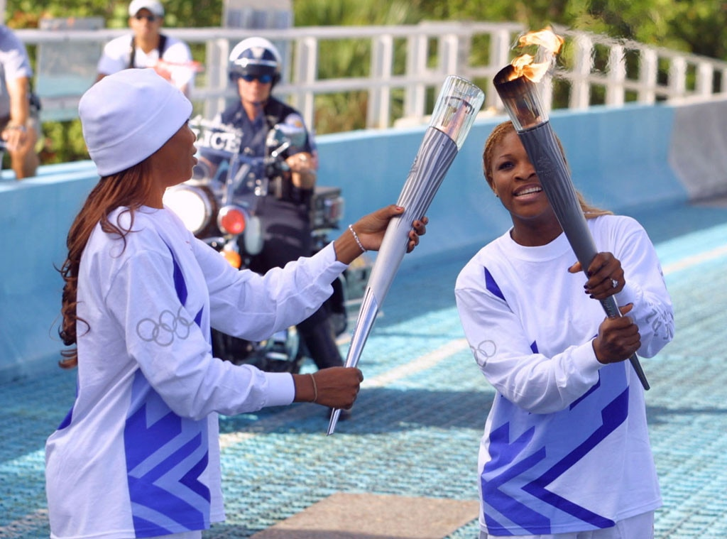 Olympic Torchbearers, Serena Williams, Venus Williams
