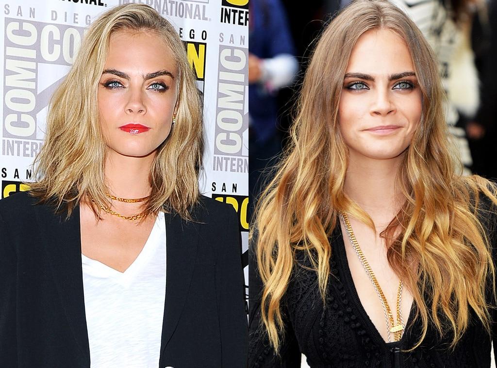 Cara Delevingne, Hair