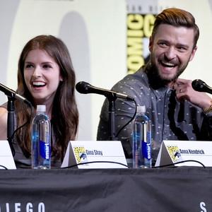 Anna Kendrick, Justin Timberlake, 2016 Comic-Con