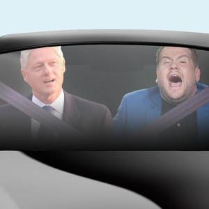 James Corden, Bill Clinton, Karaoke