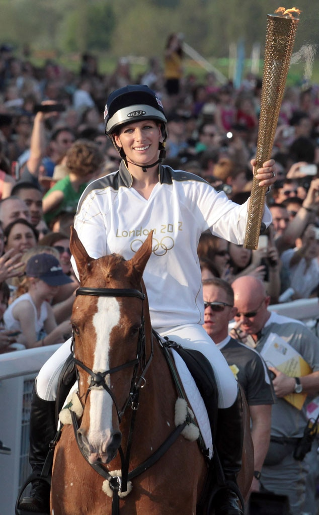 Zara Phillips, Olympic Torchbearers