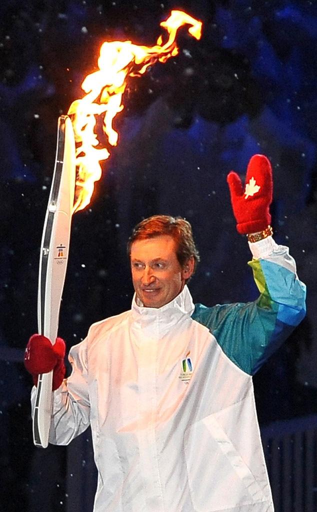 Olympic Torchbearers, Wayne Gretzky