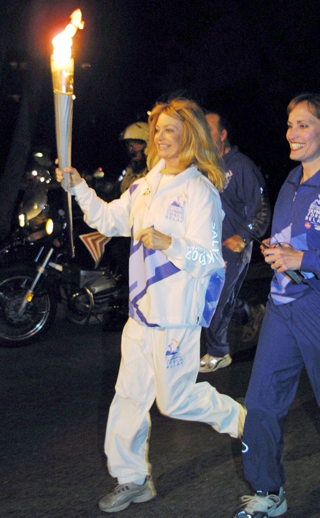 Olympic Torchbearers, Goldie Hawn