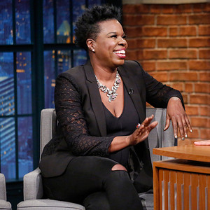 Leslie Jones, Seth Meyers