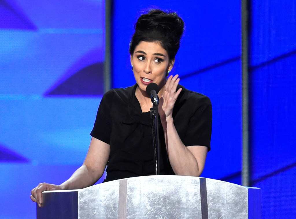 Sarah Silverman Gets Booed During DNC Speech After Calling ...